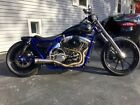 1996 Custom Built Motorcycles Chopper  CUSTOM HARLEY DYNA FXR CHOPPER PRO STREET CRUISER BOBBER