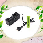 3.7V 18650 Led Flashlight 2600mAh Li-ion Rechargeable Battery + Charger