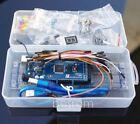 Arduino Starter Basic Kit Mega2560 R3 + Bread board + LED + Buzz + Flame Sensor