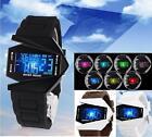 Multi-color Back Light B-2 Spirit Stealth Bomber LED Electronic Wrist watch