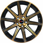 4 GWG Wheels 20 inch Bronze MOD Rims fits HONDA CIVIC COUPE 2012 - 2015