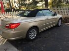 2010 Chrysler Sebring convertible low miles 35000 2010, gold, tan interior, new brakes, new tires, 35000 miles