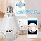 Mini 360°Panoramic Wireless Wifi Fisheye 960P HD IP Camera for iPhone OS Android