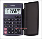 Brand New Casio Mini Pocket Portable Calculator LC-401LV-BK Black
