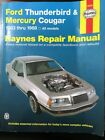 Haynes 36082 Repair Manual Ford Thunderbird And Mercury Cougar 1983-1988