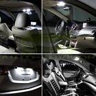 6x White Interior Light LED Bulb Set for Honda Civic 2006-2012 Sedan & Coupe New