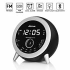 ROCAM Bluetooth 4.1 Digital FM Alarm Clock Radio with Dual Alarm, Snooze, Sleep