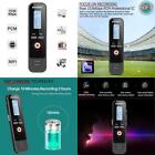 Digital Voice Activated Recorder Mini Spy Sound Audio Hd Record Rechargeable Mp3