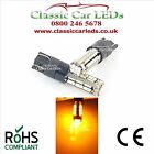 2x FORD FOCUS MK3 ST RS BRIGHT AMBER T10 LED CANBUS MIRROR REPEATER BULB W5W 501