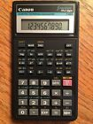 Canon Scientific Statistical Calculator F-603 Fraction 10 + 2 Digits with Cover