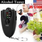 US Sensitive Digital Alcohol Tester Breathalyzer Analyzer Detector Test Keychain