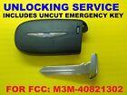 Unlock SERVICE & UNCUT E-Key For Factory Chrysler 200 Smart Remote M3M40821302