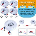 Annke (4) 30M/ 100 Feet Bnc Video Power Cable For Cctv Camera Dvr Security Syste
