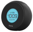 iHome iBT18BC Bluetooth Dual Alarm Clock with Speakerphone & USB Charging