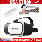VR Virtual Reality 3D Video Games Glasses+Bluetooth Control for Samsung iphone