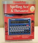 Brand New Franklin Spelling Ace Thesaurus Timer SA-209