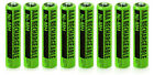 NIMHAAA (8-Pack) NiMh AAA Batteries 2-Pack