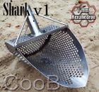 NEW MODEL *SHARK v1* Beach Sand Scoop Metal Detector Hunting Tool Steel CooB
