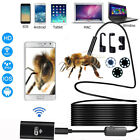 US For CellPhone 1/3/5/10m 8mm Wireless HD 720P WIFI Camera Inspection Endoscope