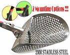 *MONSTR-8* Beach Sand Scoop Stainless 2mm Steel Metal Hunting Detector Tool