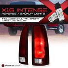!HIGH-POWER CREE REVERSE! [SMOKE RED] 88-98 Suburban Tahoe Silverado Tail Lights
