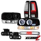 1999-2002 Sierra WT Taillights Roof Brake Lamp Signal Foglamps CCFL Headlights