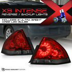 "!CREE LED REVERSE! Chevy 06-13 Impala SS ""Dark Wine Red"" Rear Brake Tail Lamps"