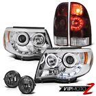 05-11 Tacoma PreRunner Rear brake lamps projector headlights fog LED Dual Halo