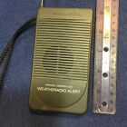 Vintage Weather Radio, comes with batteries, works well.