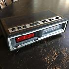 Vintage SEARS AM/FM Clock Radio, Model 317 23830 800, With Sleep & Snooze