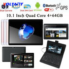 10.1'' 1080P Tablet PC Android 6.0 Octa Core 4+64GB Dual SIM HD Wifi+3G Phablet
