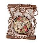 Kids Room Decor Wall Clock Sticker Boy Gift Decals Nursery Mural - Retro Box