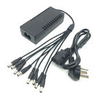 DC 12V 5A Power Supply Adapter +8 Split Power Cable For CCTV Security Camera PGS