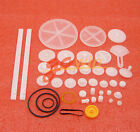 DIY 34 Kinds Plastic Shaft Rack Reduction Worm Gears Belt Pulley For  Robot