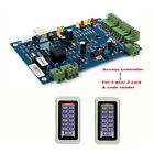 TCP/IP Network Entry Access Control Board Controller Panel+ 2X Card+ Code Reader