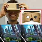 ULTRA CLEAR Cardboard Valencia Quality 3D VR Virtual Reality Glasses ED