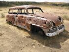 Bonnie & Clyde 1954 Plymouth Station Wagon Dodge 1953 1953 Neon Sign Rat Rod
