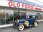 1931 Ford Model A  Model A Tudor sedan 4 cyl 3 speed manual