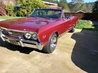 1967 Chevrolet Chevelle SS, #s matching 396. CA car, very, very clean. Must see 1967 chevelle convertible SS