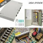 18CH Security Camera Power Supply Box DC 12V 10A Distribution for CCTV System EX