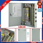 18CH Channel Power Supply Box for CCTV Camera Security Surveillance12V 10A DC EX