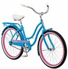Girls Cruiser Bike Outdoor Play Time Single Speed Wrap Fenders Rear Rack Kids