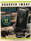 NEW SHARPER IMAGE Portable Electronic Key Finder 2 FOBS MSRP $30
