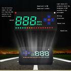 A2 Car Universal GPS HUD Head Up Digital Speedometer MPH/KM/h Speed Warn System