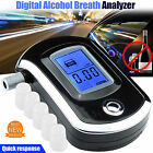 Advance Police Digital Breath Alcohol Tester LCD Breathalyzer Analyzer Portable