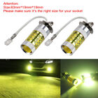 2pcs LED Fog Driving Lights DRL Bulbs Lamp H3 High Power 80W 1600LM 3000k Yellow