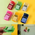 Fridge Stricker Clip Solar Powered Calculator Clip Kids School CalculatingBLBD
