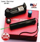 Green Laser Pointer Pen 532nm High Power Visual Beam w/Charger+Battery Gift Box