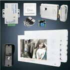 "HOMSECUR 7"" Wired Video&Audio Smart Doorbell Electric Lock+Keys Included 1C2M"