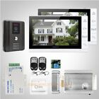 """HOMSECUR 9"""" Wired Video Door Entry Phone Call System with Dual-way Intercom"""